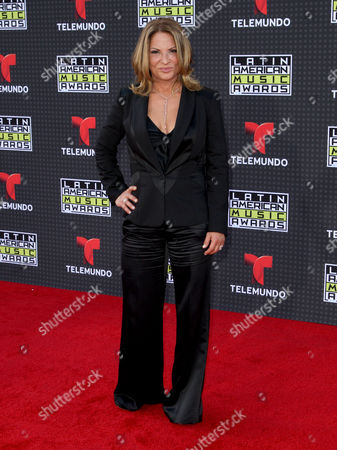 Ana Maria Polo arrives at the Latin American Music Awards at the Dolby Theatre, in Los Angeles