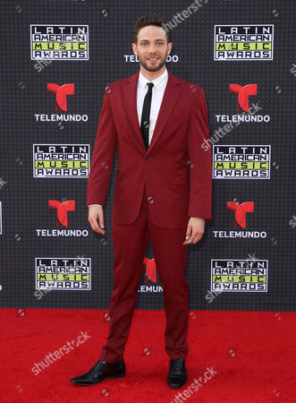 Gabriel Coronel arrives at the Latin American Music Awards at the Dolby Theatre, in Los Angeles