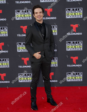 Stock Photo of Andres Zuno arrives at the Latin American Music Awards at the Dolby Theatre, in Los Angeles