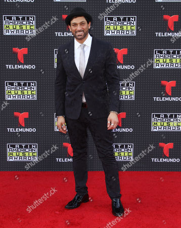 Stock Picture of Leonardo Rocco arrives at the Latin American Music Awards at the Dolby Theatre, in Los Angeles