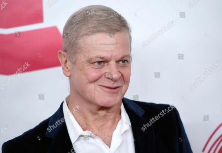 Gustavo Santaolalla arrives at the Latin Recording Academy Person of the Year Tribute honoring Roberto Carlos at the Mandalay Bay Convention Center, in Las Vegas