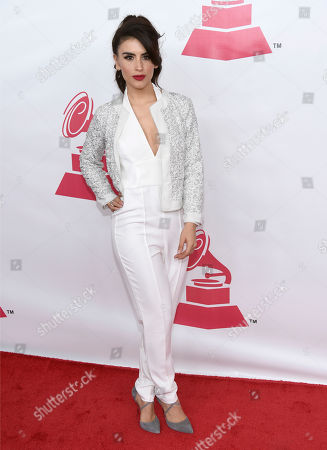 Jessica Cediel arrives at the Latin Recording Academy Person of the Year Tribute honoring Roberto Carlos at the Mandalay Bay Convention Center, in Las Vegas