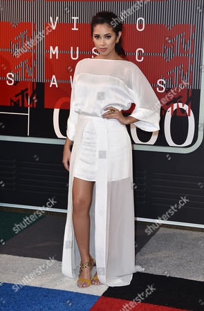 Stock Photo of Jasmine Villegas arrives at the MTV Video Music Awards at the Microsoft Theater, in Los Angeles