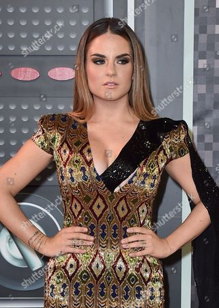 Joanna 'JoJo' Levesque arrives at the MTV Video Music Awards at the Microsoft Theater, in Los Angeles