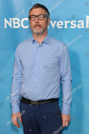 Vincent Regan arrives at the NBC Universal Summer Press Day at The Langham Huntington Hotel, in Pasadena, Calif