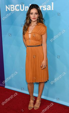 Sandra Vergara arrives at the NBC Universal Summer Press Day at The Langham Huntington Hotel, in Pasadena, Calif