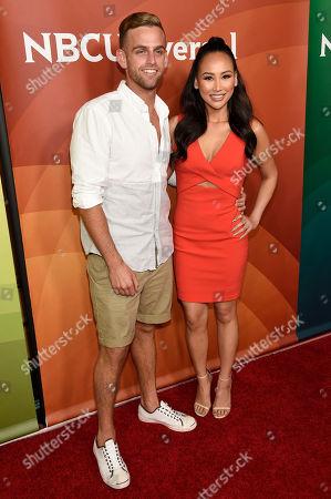 Editorial photo of 2015 NBC Universal Summer Press Day, Pasadena, USA