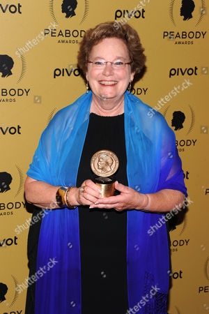 Peabody Award Recipient Abby Ginzberg attends the 74th Annual Peabody Awards at Cipriani Wall Street, in New York