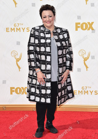 Barbara Rosenblat arrives at the 67th Primetime Emmy Awards, at the Microsoft Theater in Los Angeles