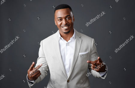 "RonReaco Lee, a cast member in the television series ""Survivor's Remorse,"" poses for a portrait during the 2015 Television Critics Association Summer Press Tour at the Beverly Hilton, in Beverly Hills, Calif"