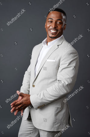 """RonReaco Lee, a cast member in the television series """"Survivor's Remorse,"""" poses for a portrait during the 2015 Television Critics Association Summer Press Tour at the Beverly Hilton, in Beverly Hills, Calif"""