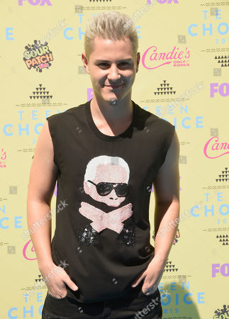 Michael J. Willett arrives at the Teen Choice Awards at the Galen Center, in Los Angeles