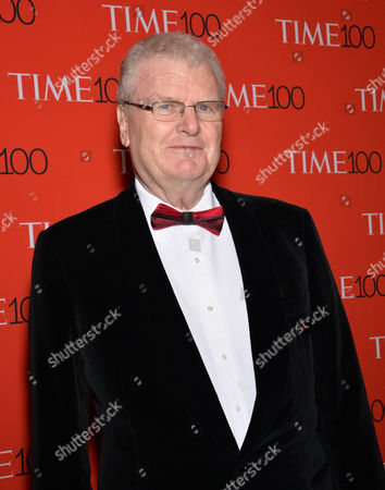 Howard Stringer attends the TIME 100 Gala, celebrating the 100 most influential people in the world, at the Frederick P. Rose Hall, Time Warner Center, in New York