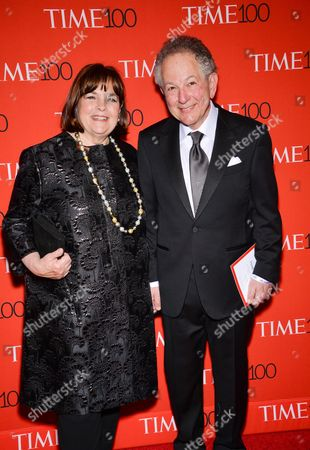 Author Ina Garten and husband Jeffrey Garten attend the TIME 100 Gala, celebrating the 100 most influential people in the world, at the Frederick P. Rose Hall, Time Warner Center, in New York