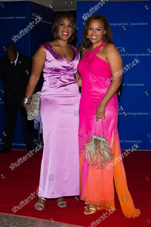 Gayle King, left, and Kirby Bumpus attend the 2015 White House Correspondents' Association Dinner at the Washington Hilton Hotel, in Washington
