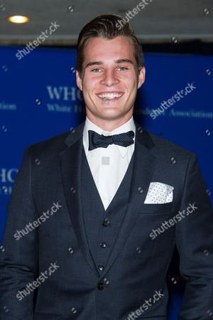 Marcus Johns attends the 2015 White House Correspondents' Association Dinner at the Washington Hilton Hotel, in Washington