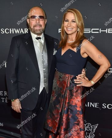 Stock Image of Bobby Zarin and Jill Zarin attend the 2016 Angel Ball, benefitting Gabrielle's Angel Foundation for Cancer Research, at Cipriani Wall Street, in New York