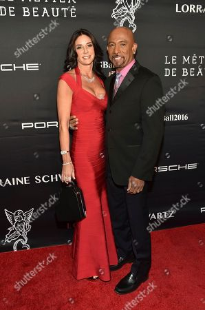 Tara Fowler and Montell Williams attend the 2016 Angel Ball, benefitting Gabrielle's Angel Foundation for Cancer Research, at Cipriani Wall Street, in New York