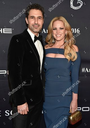 Ethan Zohn and wife Lisa Heywood attend the 2016 Angel Ball, benefitting Gabrielle's Angel Foundation for Cancer Research, at Cipriani Wall Street, in New York