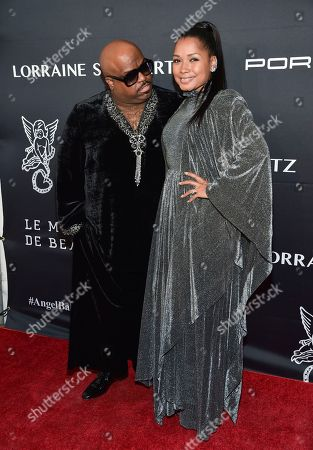 CeeLo Green, left, and Shani James attend the 2016 Angel Ball, benefitting Gabrielle's Angel Foundation for Cancer Research, at Cipriani Wall Street, in New York