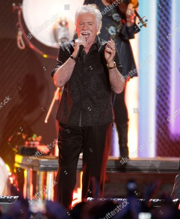 Joe Bonsall, of the Oak Ridge Boys, perform at the CMT Music Awards at the Bridgestone Arena, in Nashville, Tenn