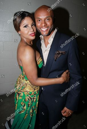 Singer and honoree Toni Braxton left and singer Kenny Lattimore attend the 13th Annual McDonald's 365 Black Awards at the Ernest Moral Convention Friday, July 1,2016 in New Orleans, LA