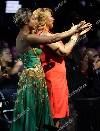 Singer and honoree Toni Braxton and mother Evelyn Braxton attend attends the 13th Annual McDonald's 365 Black Awards at the Ernest Moral Convention Friday, July 1,2016 in New Orleans, LA