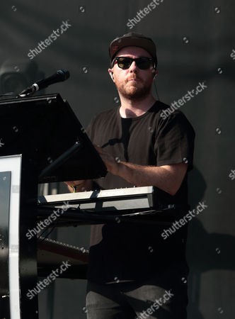 Martin Doherty of Chvrches performs on Day 3 of the 2016 Firefly Music Festival at The Woodlands, in Dover, Del