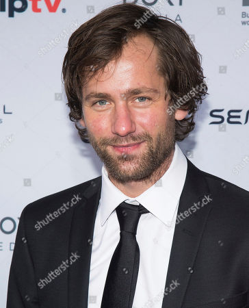 Stock Image of Florian Stetter attends the 44th International Emmy Awards at the New York Hilton, in New York