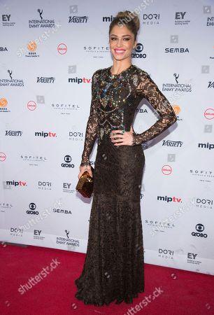 Grazi Massafera attends the 44th International Emmy Awards at the New York Hilton, in New York