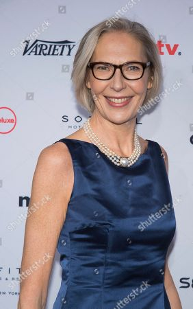 Stock Picture of Maria Rorbye Ronn attends the 44th International Emmy Awards at the New York Hilton, in New York