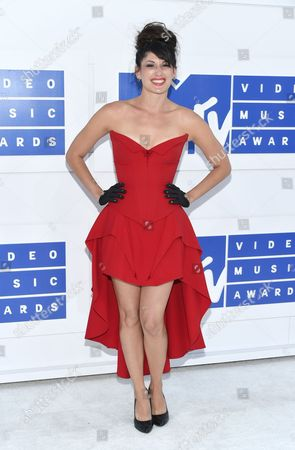 Scout Durwood arrives at the MTV Video Music Awards at Madison Square Garden, in New York
