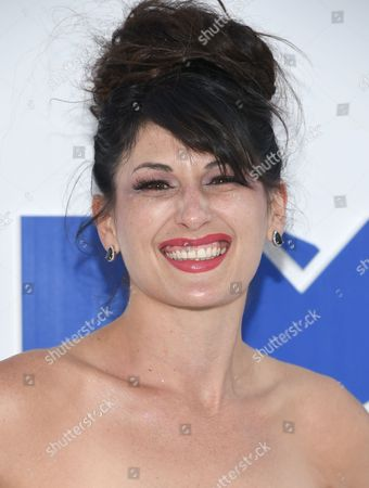 Stock Picture of Scout Durwood arrives at the MTV Video Music Awards at Madison Square Garden, in New York
