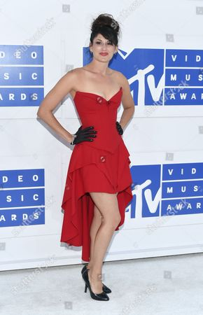 Editorial picture of 2016 MTV Video Music Awards - Arrivals, New York, USA
