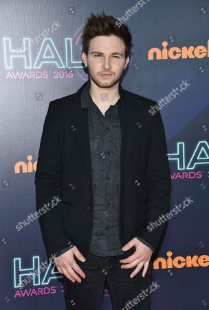 Stock Image of AJ Lehrman attends the 2016 Nickelodeon HALO Awards at Pier 36, in New York