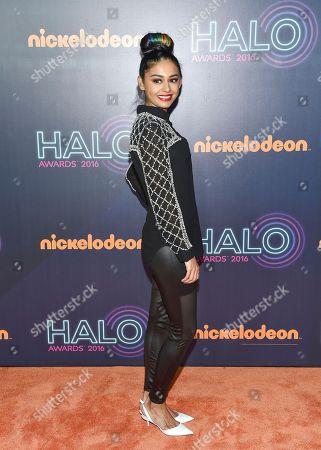 Journalist Nelufar Hedayat attends the 2016 Nickelodeon HALO Awards at Pier 36, in New York