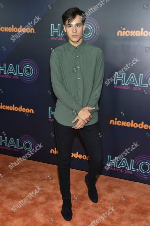 Jacob Whitesides attends the 2016 Nickelodeon HALO Awards at Pier 36, in New York