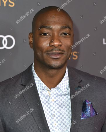 Stock Photo of BJ Britt arrives at the Performers Nominee Reception presented by the Television Academy at the Pacific Design Center, in West Hollywood, Calif
