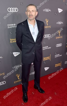 Mark Ivanir arrives at the Performers Nominee Reception presented by the Television Academy at the Pacific Design Center, in West Hollywood, Calif