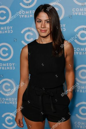 Stock Picture of Megan Batoon arrives at the 2016 Primetime Emmy Awards - Comedy Central Pre Party, in Los Angeles