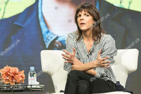 """Kate Robin participates in the """"One Mississipi"""" panel during the Amazon Television Critics Association summer press tour, in Beverly Hills, Calif"""