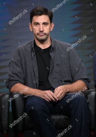 "Creator/executive producer Jeremy Slater participates in the panel for ""The Exorcist"" during the Fox Television Critics Association summer press tour, in Beverly Hills, Calif"