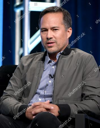 """Stock Picture of Executive producer Matt Westmore participates in E! network's """"Botched by Nature"""" panel during the NBCUniversal Television Critics Association summer press tour, in Beverly Hills, Calif"""