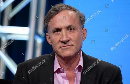 "Terry Dubrow participates in E! network's ""Botched by Nature"" panel during the NBCUniversal Television Critics Association summer press tour, in Beverly Hills, Calif"