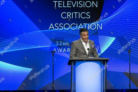 Jamie Camil hosts the 32nd Annual Television Critics Association Awards Show at the Beverly Hilton, in Beverly Hills, Calif