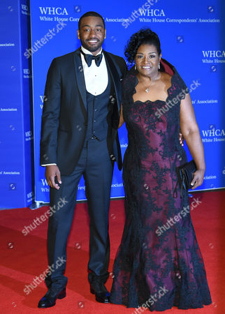 John Wall and mother Frances Pulley attend the White House Correspondents' Association Dinner at the Washington Hilton Hotel, in Washington