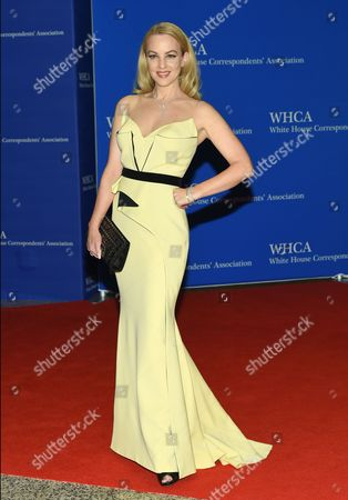 Stock Picture of Wendi McClendon-Covey arrives at the White House Correspondents' Association Dinner at the Washington Hilton Hotel, in Washington