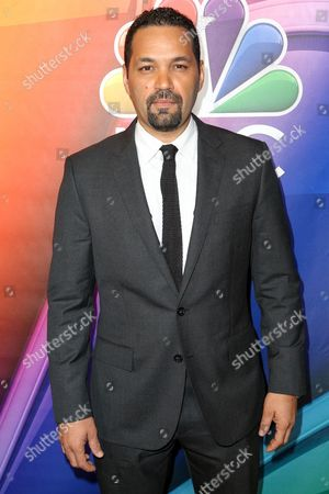 Stock Picture of Vincent Laresca arrives at the 2016 NBCUniversal Winter TCA at the Langham Huntington Hotel & Spa, in Pasadena Calif
