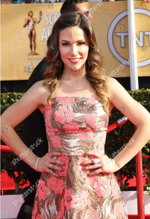 Stock Photo of Stuart Brazell arrives at the 20th annual Screen Actors Guild Awards at the Shrine Auditorium, in Los Angeles