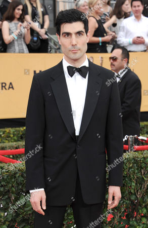 Louis Cancelmi arrives at the 21st annual Screen Actors Guild Awards at the Shrine Auditorium, in Los Angeles